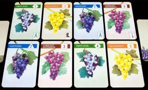 Cartas uvas