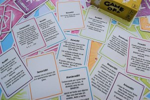Cartas Game off ejemplos