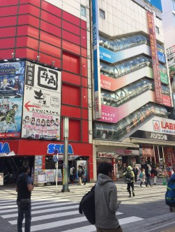 One of the many malls in Akihabara :D