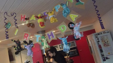 The cutest birthday celebration