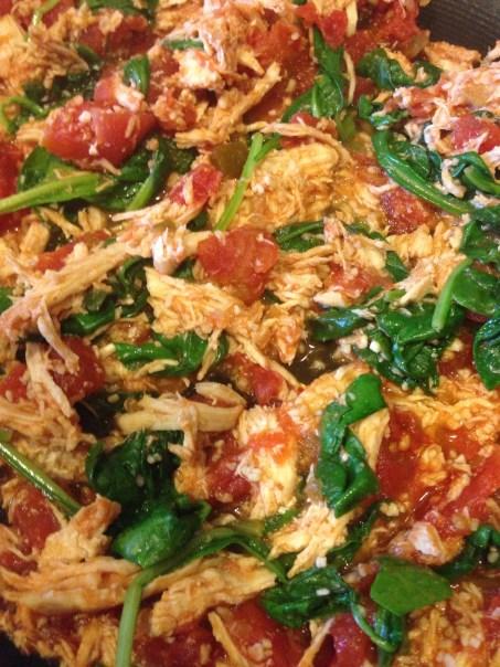Chicken, bacon, Ranch Pasta bake