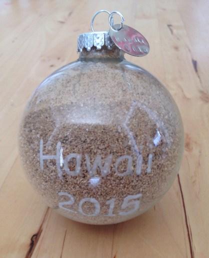 Souvenir Sand Necklace, Magnent, or Ornament