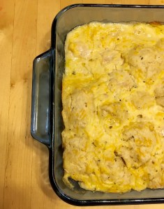 Chicken & Biscuit Casserole