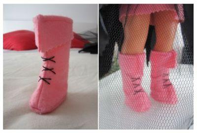 mis nancys, mis peques y yo, disfraz de brujilla nancy detalle botas cordones