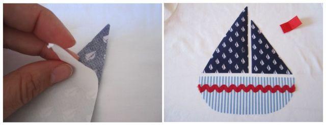 mis nancys, mis peques y yo, tutorial aplique camiseta colocar velas