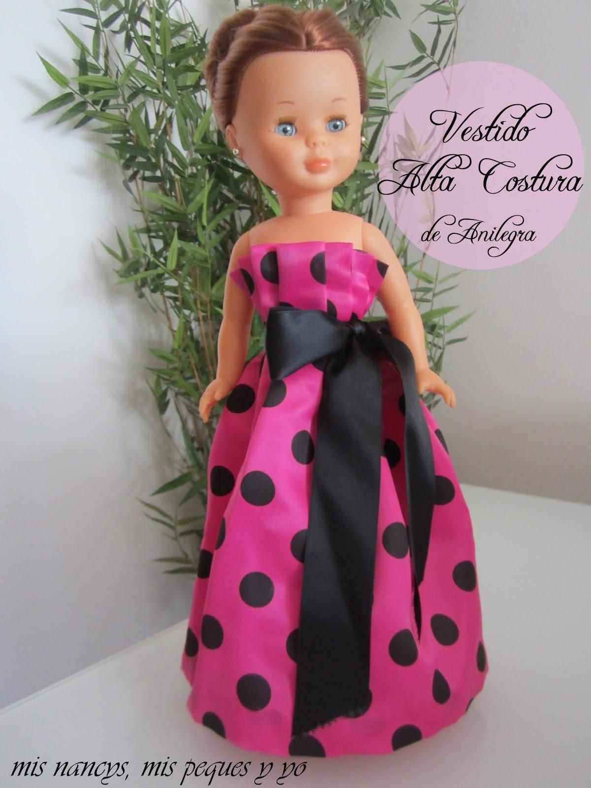 """Vestido """"Alta Costura"""" de Anilegra para Nancy"""