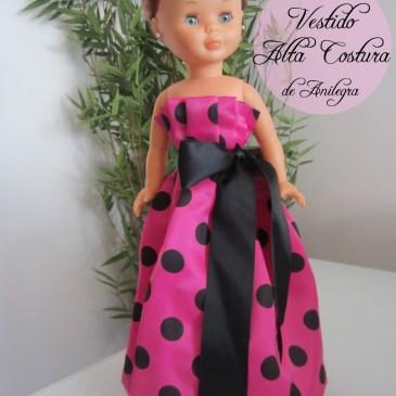 Vestido «Alta Costura» de Anilegra para Nancy