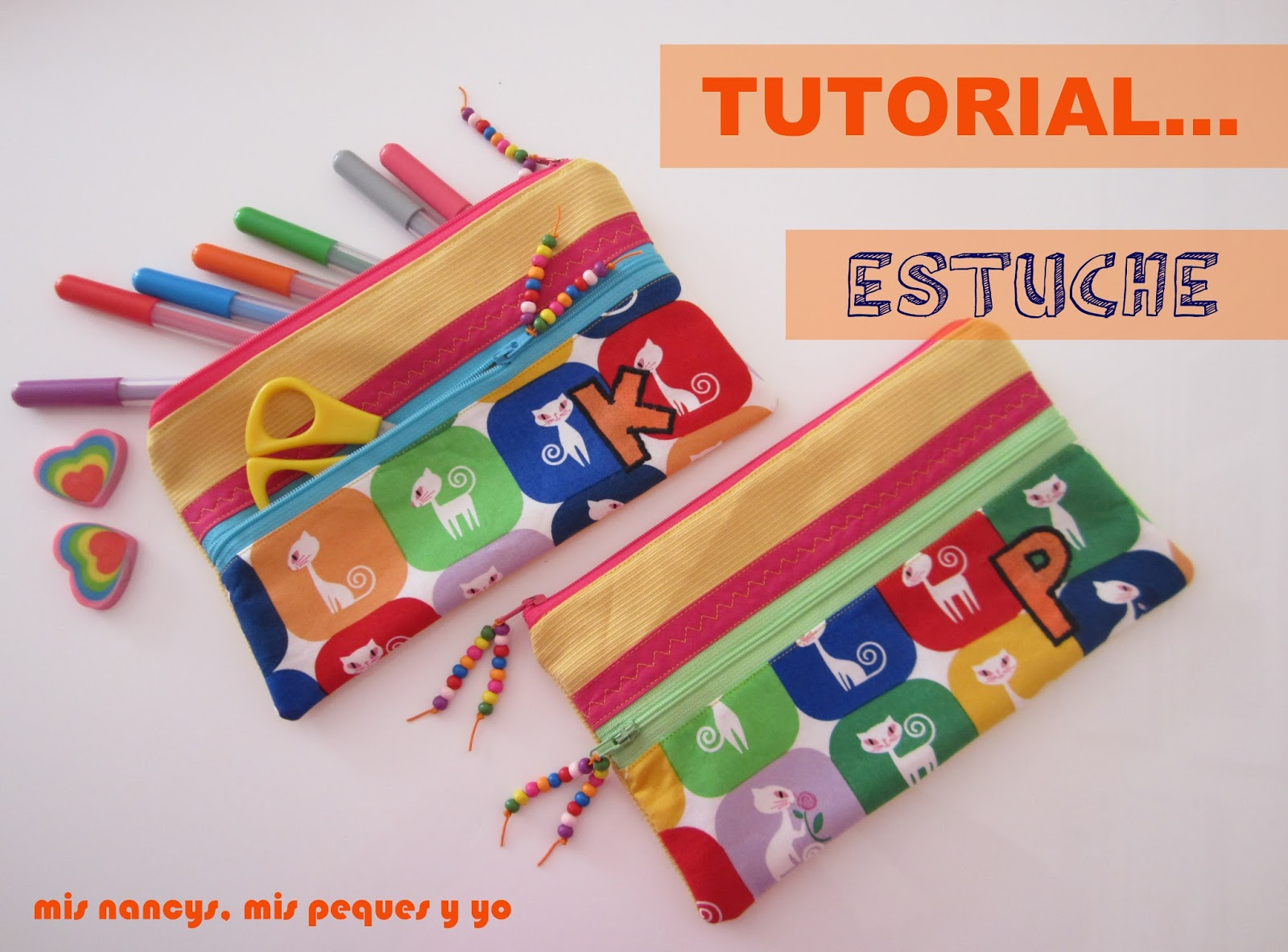 Tutorial «Estuches escolares»