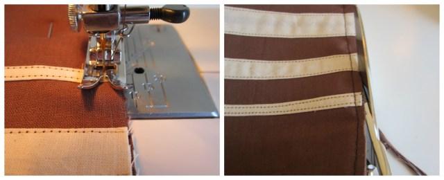 mis nancys, mis peques y yo, tutorial bolsita de viaje, coser costura francesa