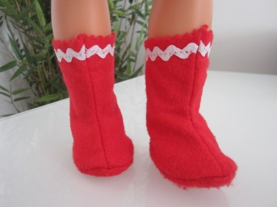 mis nancys, mis peques y yo, disfraz duende de navidad fieltro botas