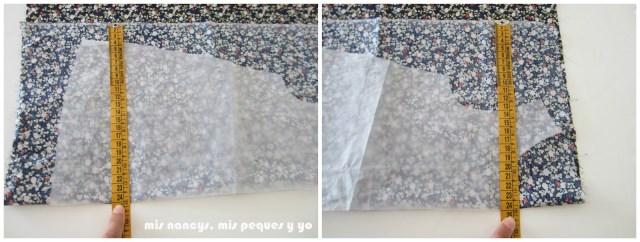mis nancys, mis peques y yo, tutorial blusa sin mangas niña (patrón gratis), comprobar aplome tela