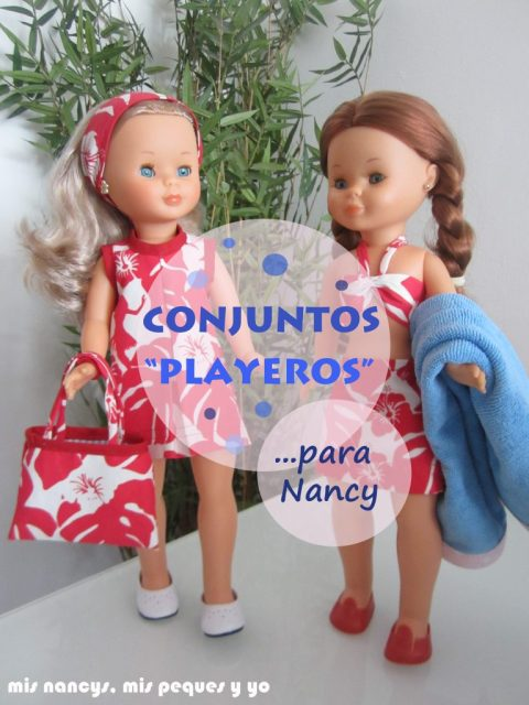 mis nancys, mis peques y yo, conjuntos playeros para nancy