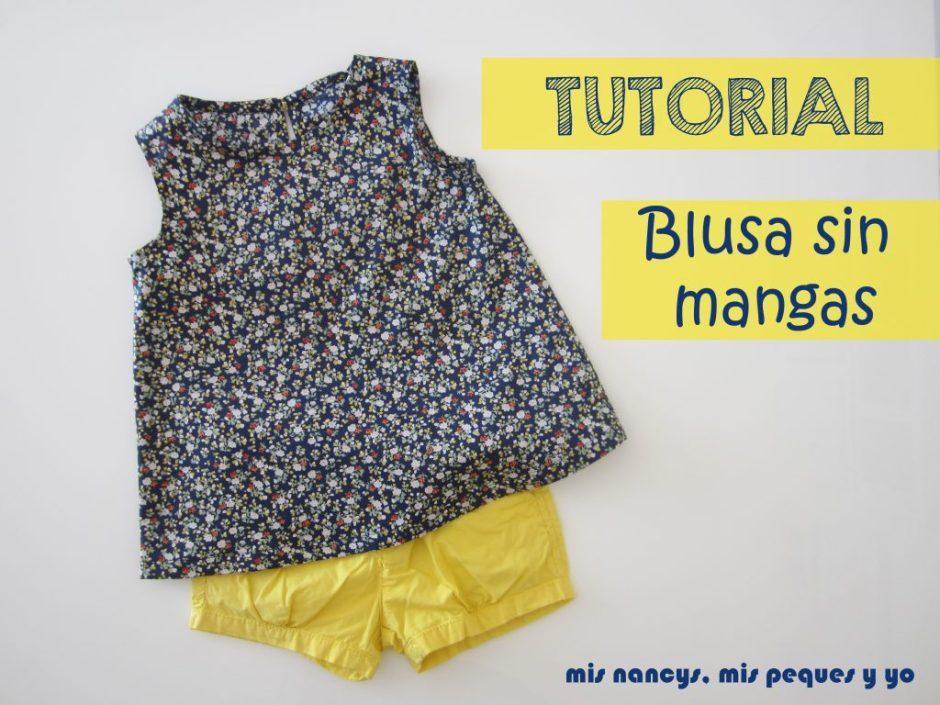 mis nancys, mis peques y yo, tutorial blusa sin mangas niña (patron gratis talla 4 y 6 años)