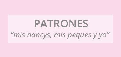 "mis nancys, mis peques y yo, cuadro patrones ""mis nancys, mis peques y yo"""