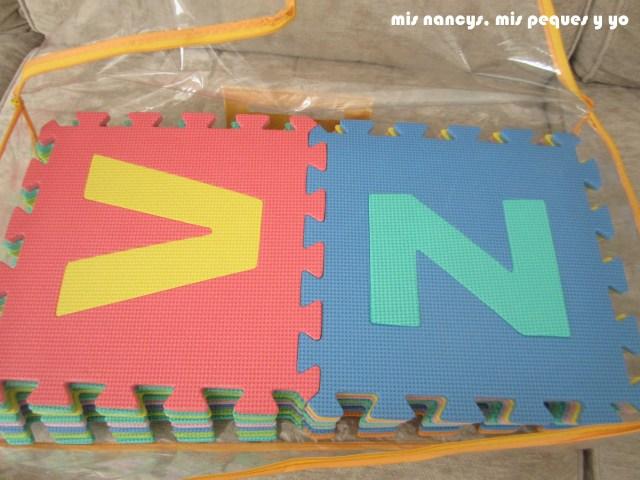 mis nancys, mis peques y yo, Tutorial DIY como bloquear un jersey de lana, puzzle de letras