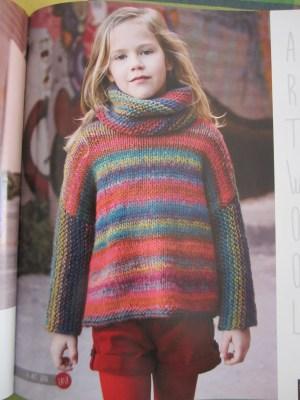 mis nancys, mis peques y yo, Tutorial DIY como bloquear un jersey de lana, revista Katia invierno