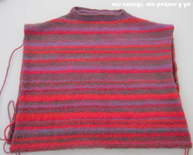 mis nancys, mis peques y yo, Tutorial DIY como coser un jersey de lana, cuello terminado
