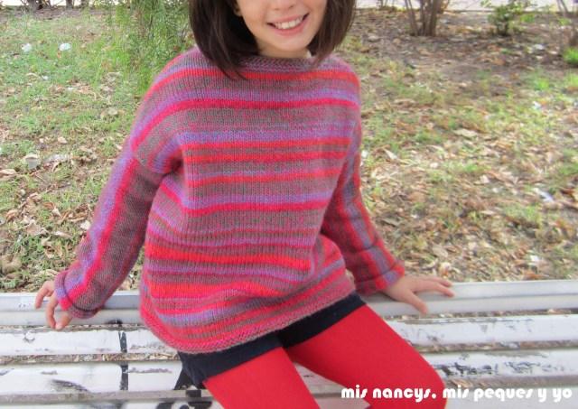 mis nancys, mis peques y yo, Tutorial DIY como coser un jersey de lana, jersey de lana Katia sin bufanda