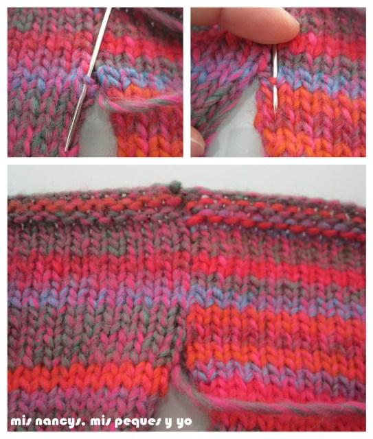 mis nancys, mis peques y yo, Tutorial DIY como coser un jersey de lana, coser costura lateral por el derecho