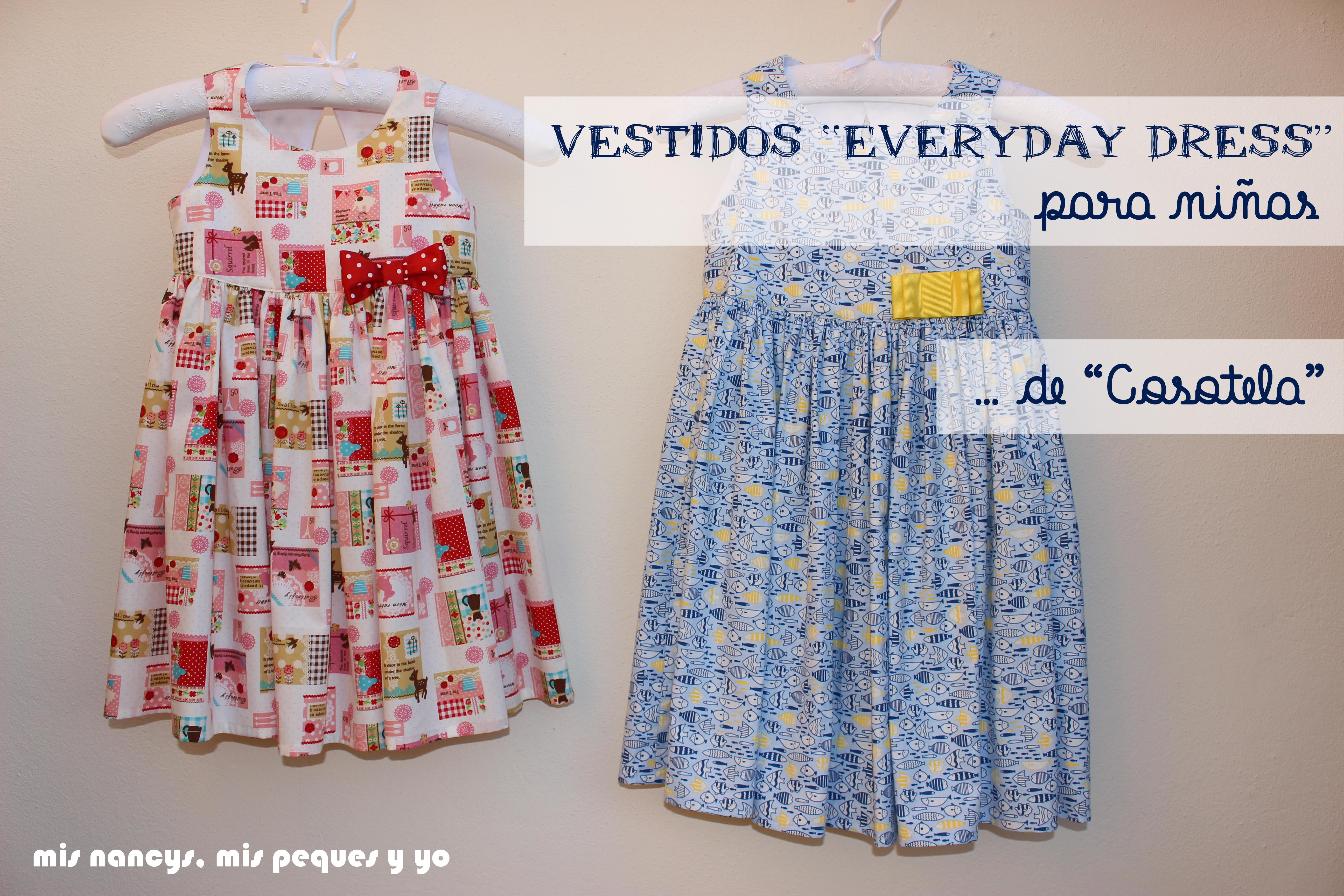 "Vestido ""Everyday dress"" para niñas de ""Cosotela"""