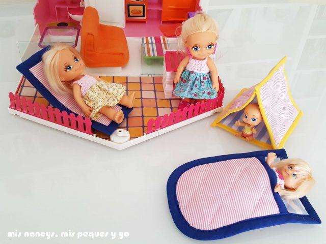 mis nancys, mis peques y yo, conjunto de cambiador para bebe y bolsitas tipo sobre, accesorios para barriguitas