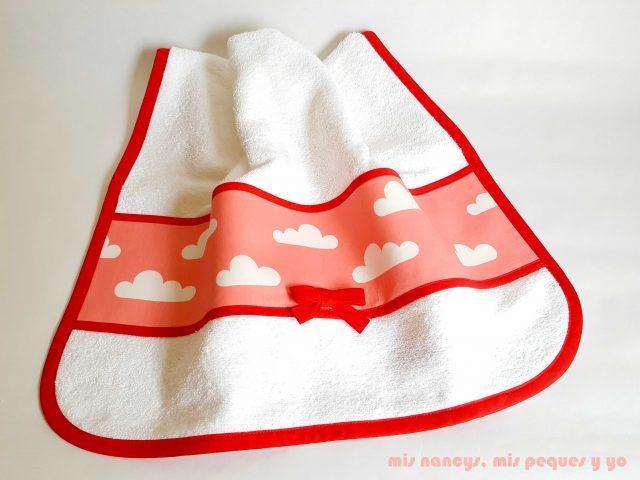 mis nancys, mis peques y yo, juego de baño para bebe, toalla de lavabo