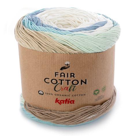 mis nancys, mis peques y yo, manta para bebe en zig zag, Katia - fair cotton craft