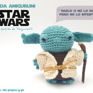 Yoda amigurumi Star Wars