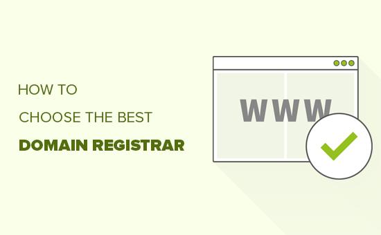 Elegir el mejor registrador de dominios