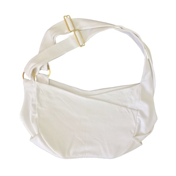 Miso Pup Dual Strap Sling in White Gold