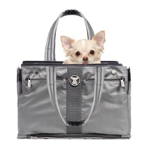 Grey Timeless Shell Tote