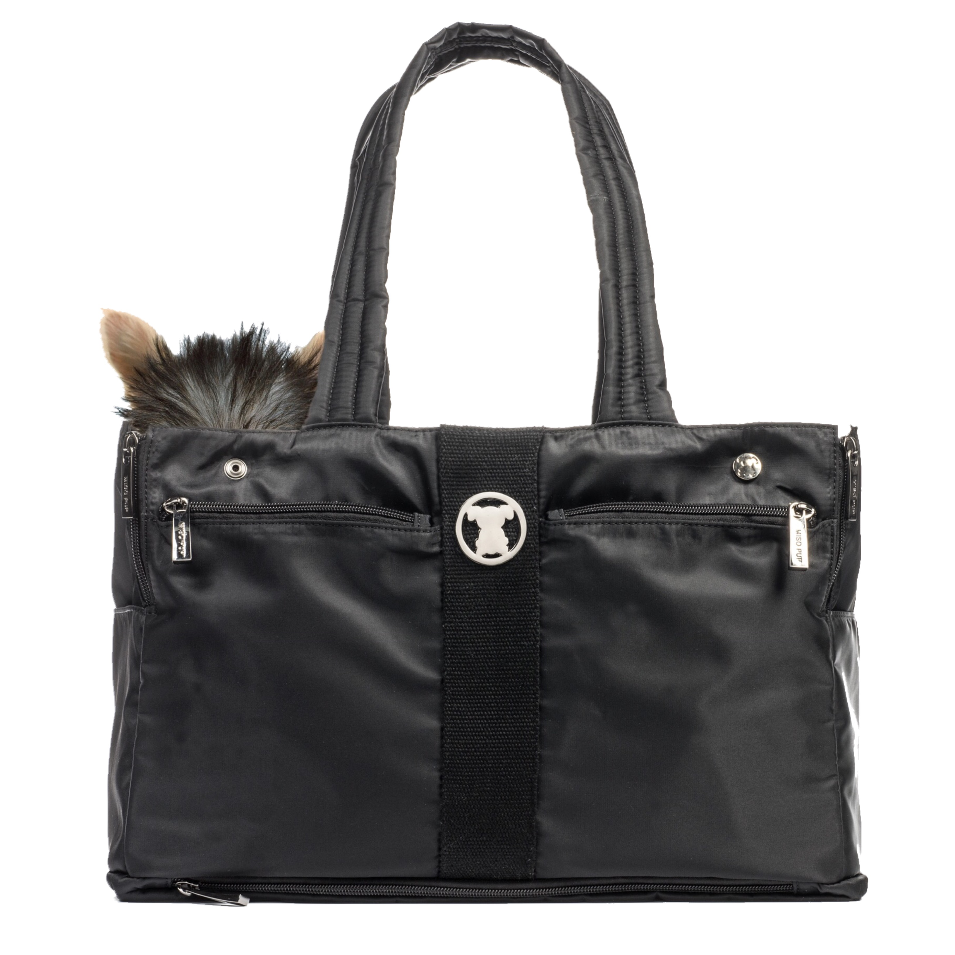 Black Timeless Shell Tote