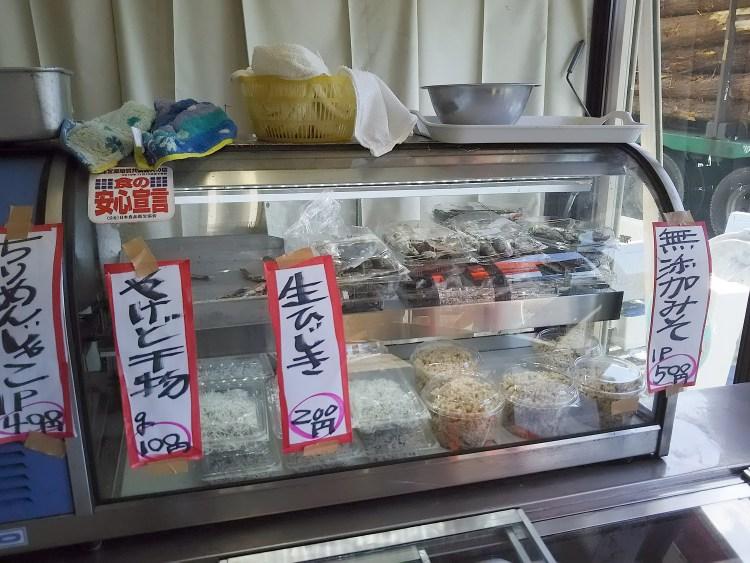 鮮魚ショーケース
