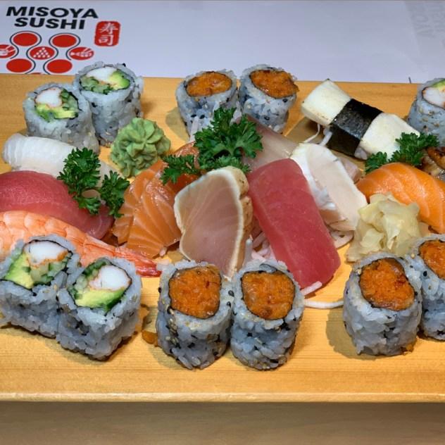 Party Tray PT4 Sashimi, Nigiri & Maki Menu