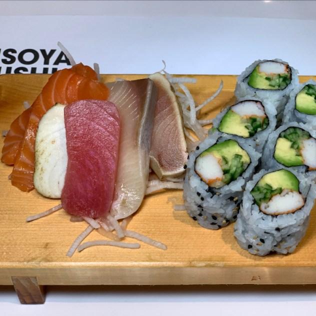 Sushi Dinner Menu