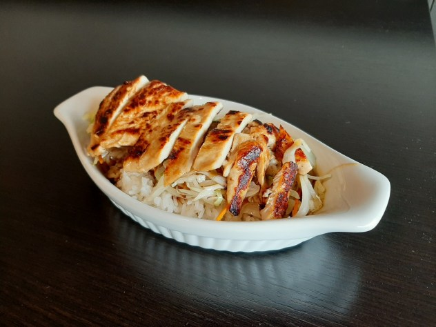 Tanya's Rice - Mary's rice with Grilled Chicken