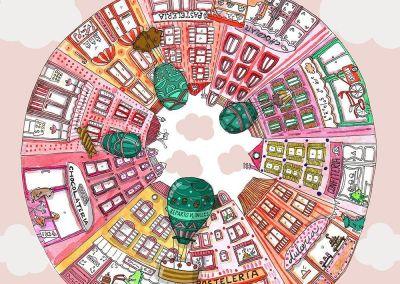 """Microrrelato """"La ciudad de la felicidad"""""""