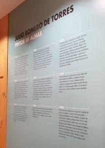 Exposición Julio Romero de Torres 4 Mis Palabras con Letras