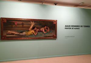 Exposición Julio Romero de Torres 5 Mis Palabras con Letras