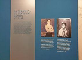 Exposición Ramón y Cajal Mis Palabras con Letras