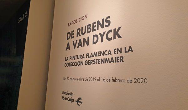 Exposición «De Rubens a Van Dyck. La pintura flamenca en la Colección Gerstenmaier»