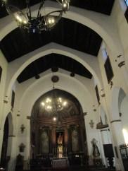 Interior de la Iglesia de San José. Albaicín. Granada. Foto: francisco López