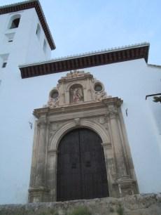 Iglesia deNª Sra. la Aurora y San Miguel Bajo. Albaicín. Foto: Francisco López