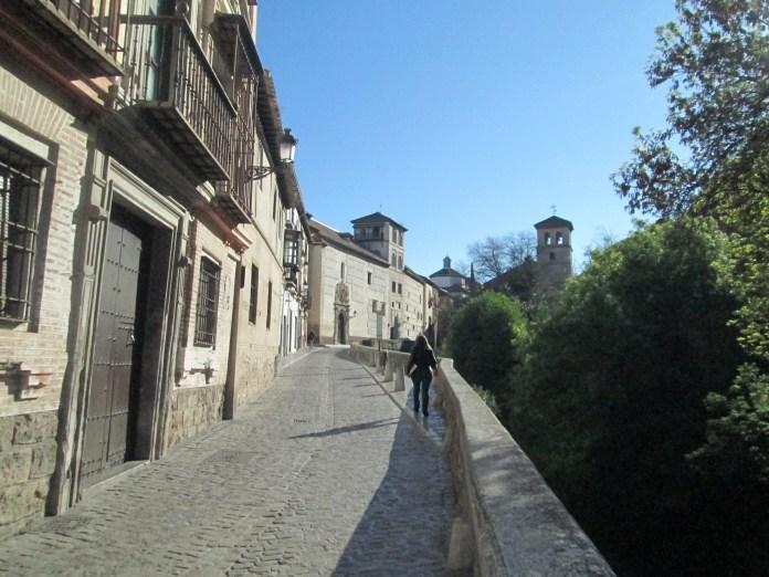 Carrera del darro. Albaicín. Granada. Foto: Francisco López