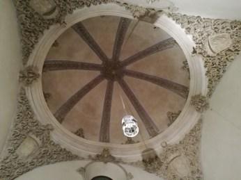 La Madrassa. Cúpula de las escaleras. Granada. Foto: Francisco López