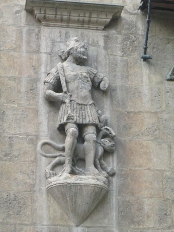 Hércules. Casa de los tiros. Realejo. Granada. Foto: Francisco López