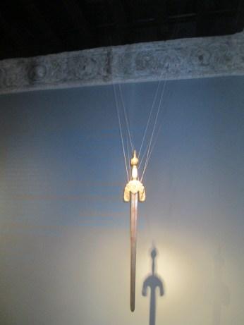 Reproducción de la espada de Boabdil. Museo Casa de los tiros