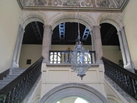Escalera Real. Santa Cruz la Real. Granada. Foto: Francisco López
