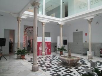 Patio. Palacio de los condes de Gabia. Granada. Foto: Francisco López