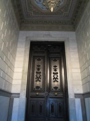 Hall de entrada. Palacio de los duques de Gor. Granada. Foto: Francisco López